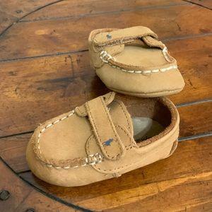 Ralph Lauren Leather baby shoes EUC